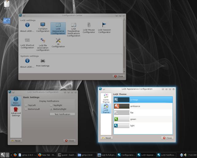 lxqt tools and features